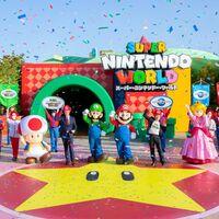 Super Nintendo World por fin ha abierto sus puertas con Mario y Shigeru Miyamoto inaugurándolo