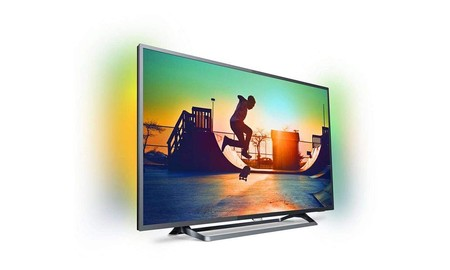 """Philips 50PUS6262/12, smart TV de 50"""", 4K además de Ambilight, por sólo 555 euros esta semana, en Mediamarkt"""