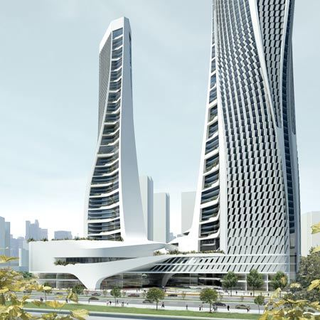 Raffles City Hangzhou by UNStudio, China