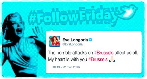 #FollowFriday de Poprosa: Bruselas, solidaridad y algo de buen rollo para compensar