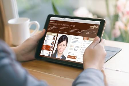 Una app de FileMaker en el iPad