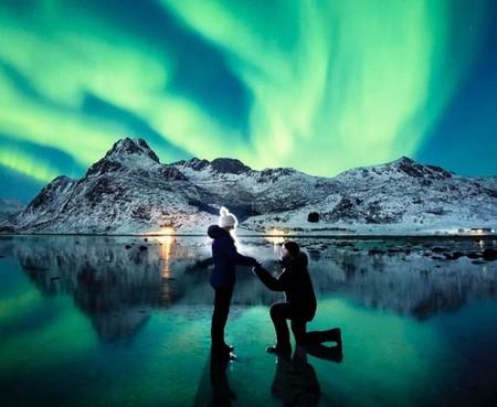 La fotografía de compromiso de esta pareja puede ser la más bonita que hemos visto nunca