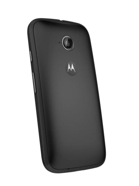 Moto E (2nd Gen ) Back Dynamic Black