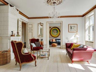 Casas a la venta: una vivienda de 216 metros cuadrados en el centro de Copenhague