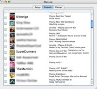 MacLive: Estado de tus amigos de Xbox Live! en tu Mac