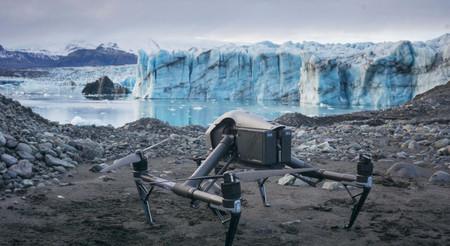 El rápido deshielo en los glaciares en Islandia documentado por drones