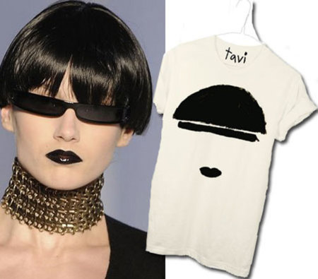 Camiseta Tavi inspirada en YSL