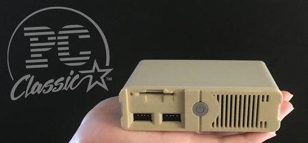 PC Classic quiere combinar la fiebre por las mini-consolas con los clásicos de MS DOS. ¿Tiene sentido?