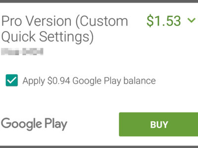 Google Play permitirá pagar una parte con tu saldo y el resto con otras formas de pago