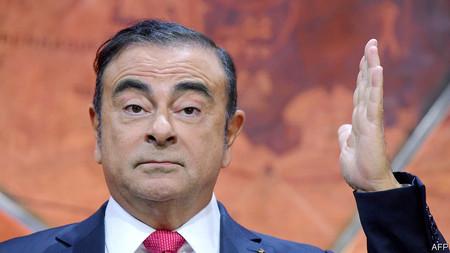 Carlos Ghosn se fuga de Japón