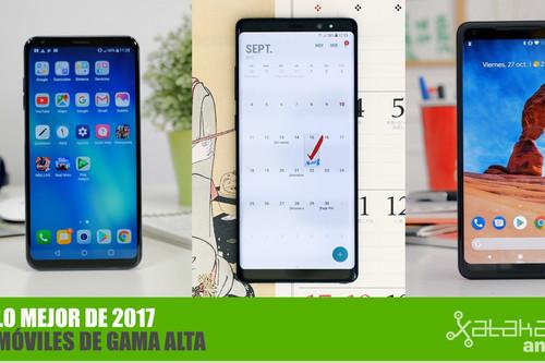 Los mejores móviles de gama alta Android de 2017