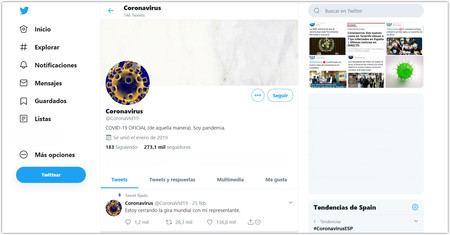Coronavirus Coronavid19 Twitter Google Chro