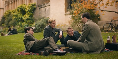 Tolkien At Oxford University With His Three Best Friends