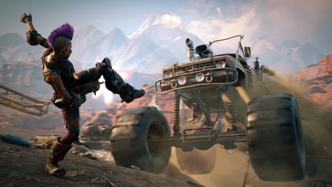 El asalto a Eden en RAGE 2 en un impactante gameplay de siete minutos
