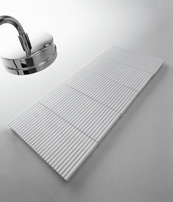 Pavimento estilo japonés en la ducha