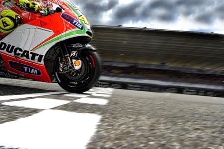 Ducati MotoGP en Estoril 2012