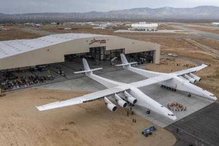 Así es el avión más grande del mundo, creado por el cofundador de Microsoft