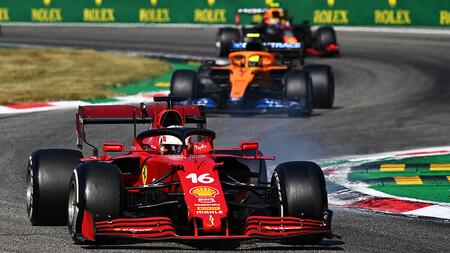 Leclerc Italia F1 2021