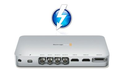 UltraStudio 3D, primera capturadora con interfaz Thunderbolt de BlackMagic