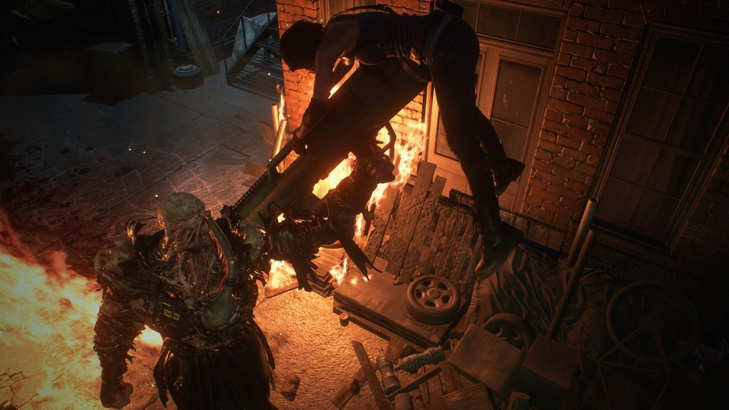 Con este mod todos los zombis de la demo de Resident Evil 3 se convierten en el temible Némesis