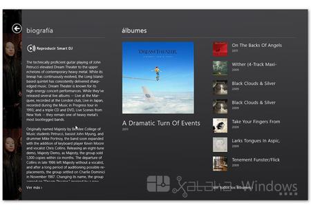 XboxMusic reproducción discos