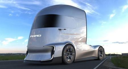 F-Vision Future Truck, el primer camión autónomo de Ford nos deja apreciar su rostro futurista