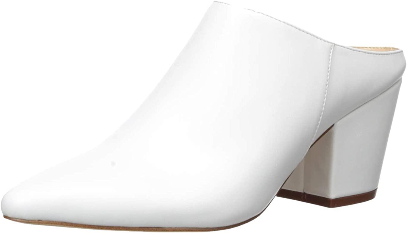 The Drop Jordan Zapatos Destalonados con Tacón Ancho Y Puntera En Punta - Mule Mujer