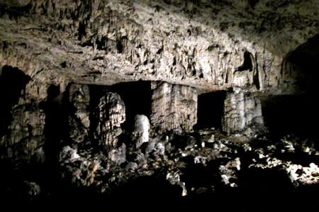 La cueva negra de Eslovenia