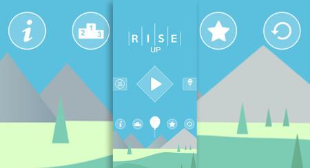 Rise Up, subir y subir para tocar el cielo: el nuevo juego casual que está enganchando a todos