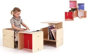 Max in the box: sistema modular para la habitación infantil