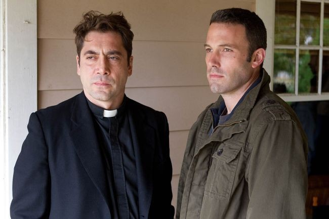 Javier Bardem y Ben Affleck