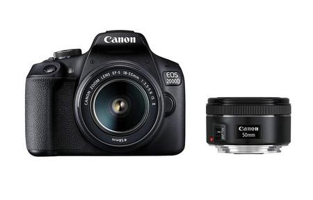Canon Eos 2000d Con 50mm