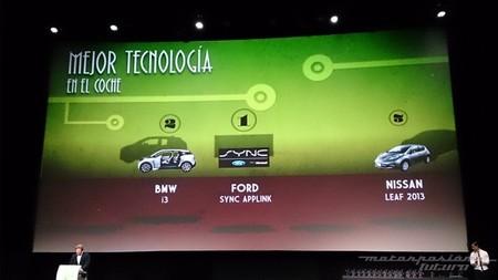 Premios Xataka 2013 Mejor Tecnología en el coche
