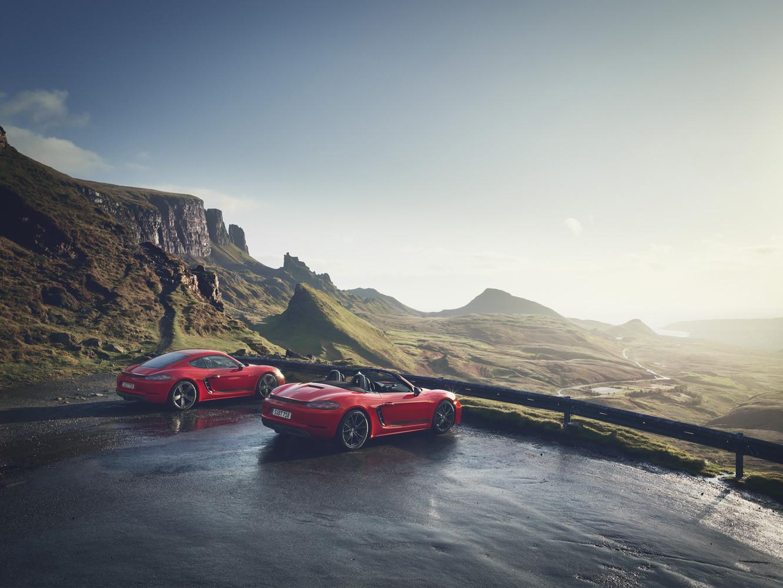 Foto de Porsche 718 Cayman T y Boxster T (2/13)