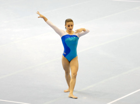Jade Barbosa Floor Routine 2007