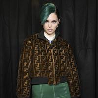 ¿Te imaginas a Kendall Jenner con la melena verde? No pienses más te la mostramos