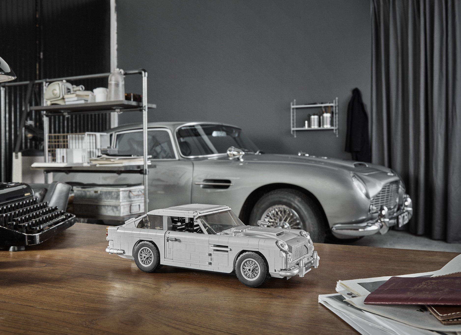 Foto de Aston Martin DB5 007 de LEGO (21/39)