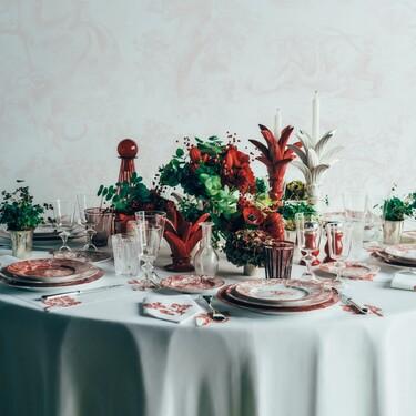 Dior quiere que celebremos San Valentín con una preciosa mesa decorada con piezas de lujo y con estilo