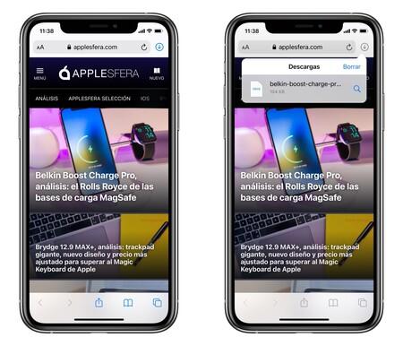 Where are saved Safari Iphone Ipad downloads