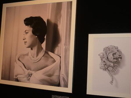 Princesa Margarita broche pinza Rose