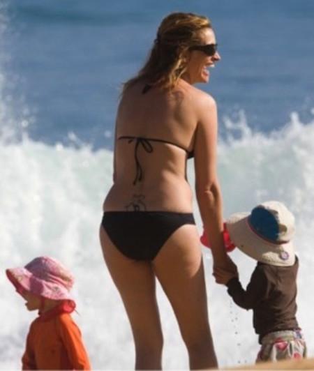 Julia Roberts Lower Back Tattoo