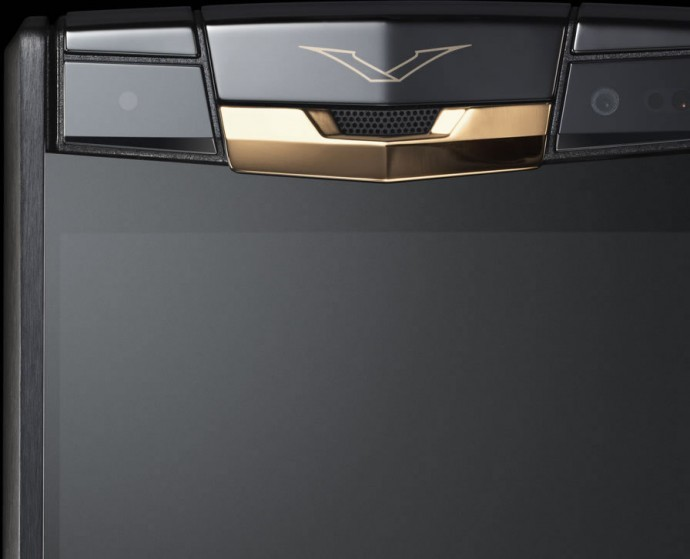 Foto de Vertu Signature Touch Pure Jet Red Gold (5/6)