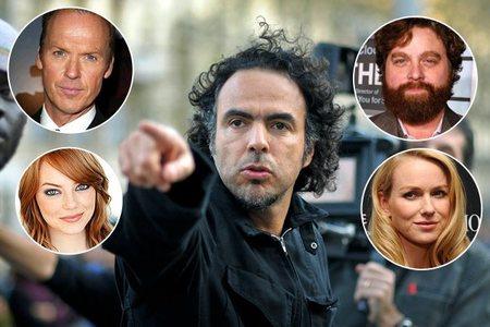 Naomi Watts, Emma Stone, Michael Keaton y Zach Galifianakis protagonizarán 'Birdman', lo nuevo de Iñárritu