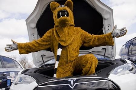 Tesla Model S león