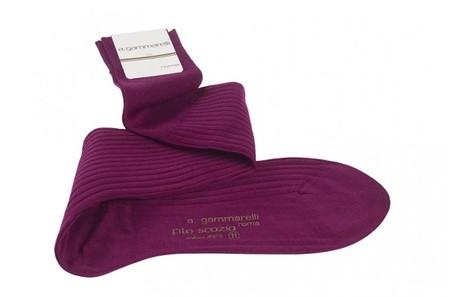 calcetines púrpura obispo gammarelli