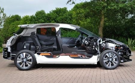 Nissan LEAF seccionado lateral