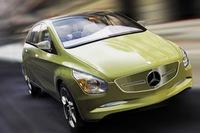 Mercedes BlueZero Concept, así será el futuro Clase B