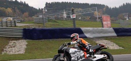 El avión de KTM para MotoGP ya rueda en el Red Bull Ring