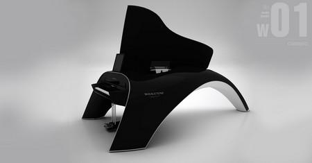 Whaletone Piano, pon un instrumento musical de diseño y alta tecnología en tu salón