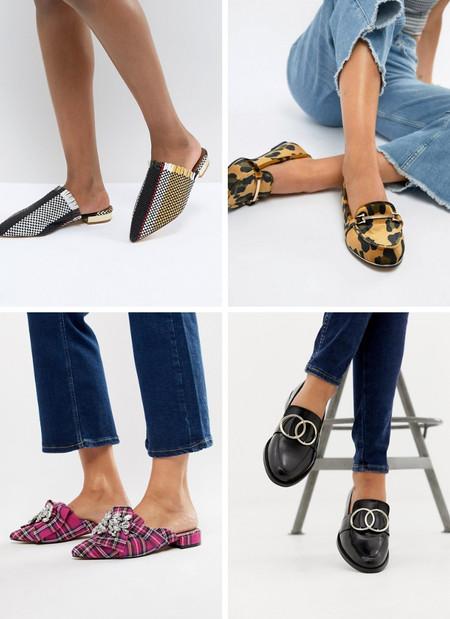 zapatos planos lowcost asos